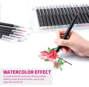 Watercolor Brush Pens 24 Colors