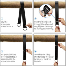 Load image into Gallery viewer, Tree Swing Straps Hanging Kit
