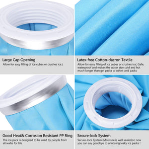 "Ice Bag 3 Pack, 3 Sizes (6""/9""/11"")"