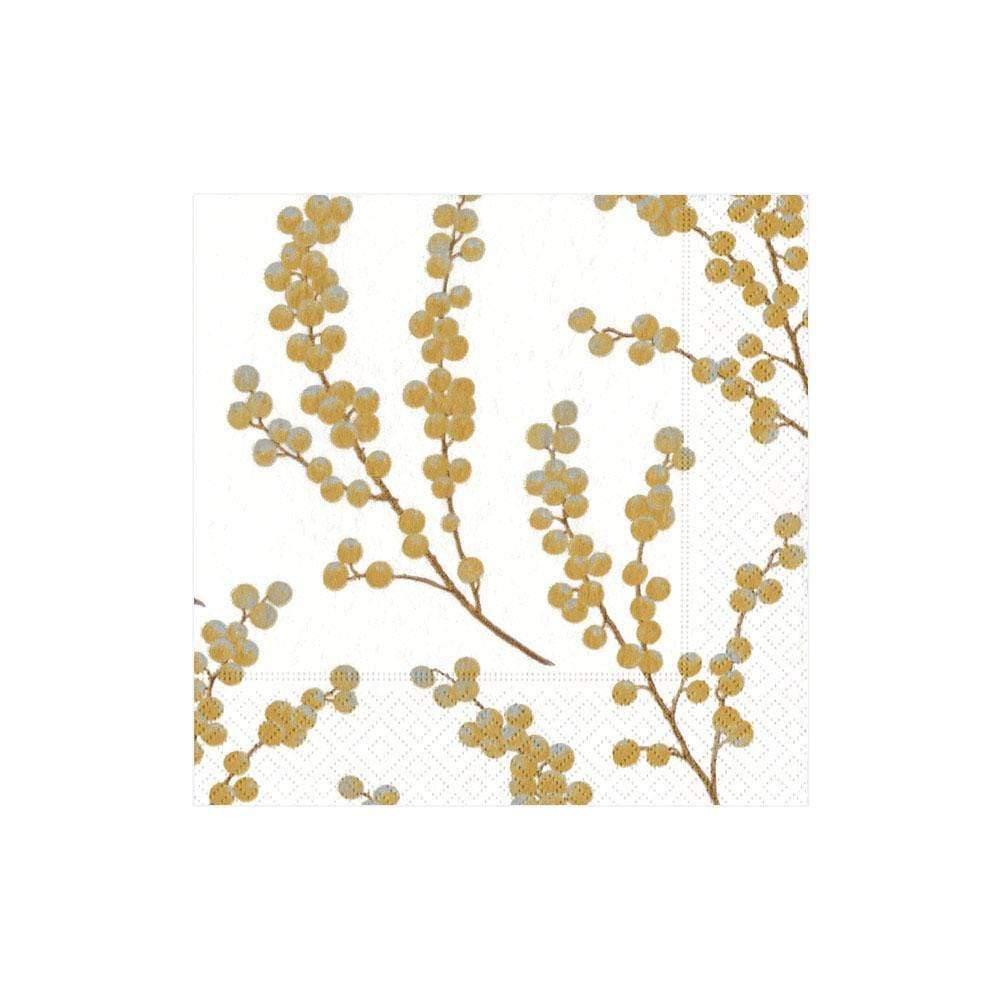 Servilletas gold branches / 20 uds.