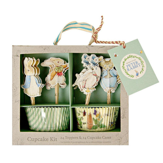 Cupcake kit Peter Rabbit