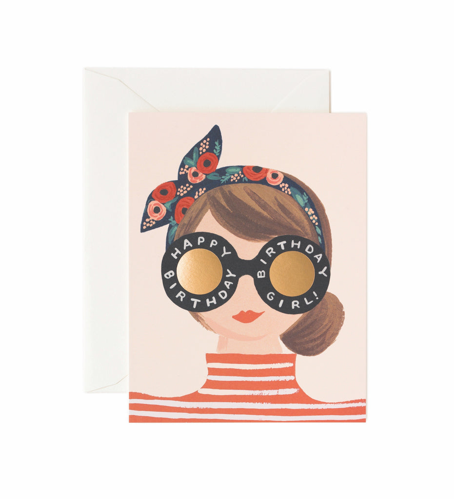 Tarjeta Birthday Girl Rifle Paper & Co
