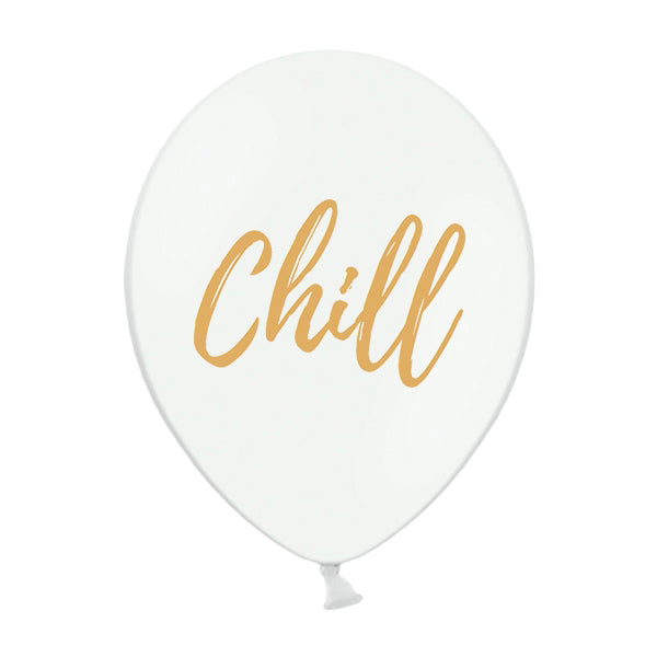 Globo blanco Chill / 2 uds.