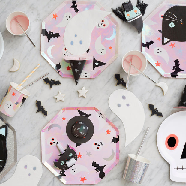 Cupcake kit Halloween iridiscente
