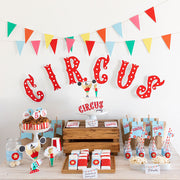 Pack imprimible Circus