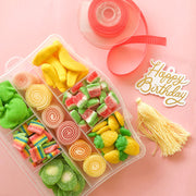 Maleta XL Tutti Frutti Neon Happy Birthday
