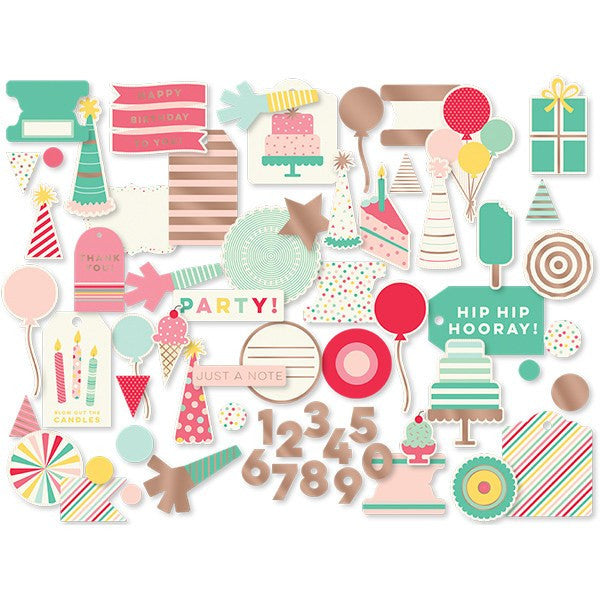 Set recortes para decorar Hooray - La Fiesta de Olivia - 1