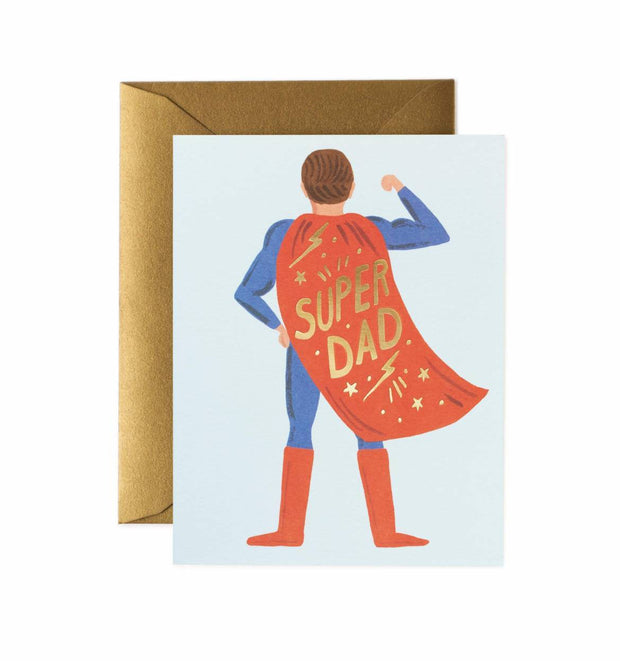 Tarjeta Super Dad Rifle Paper & Co.