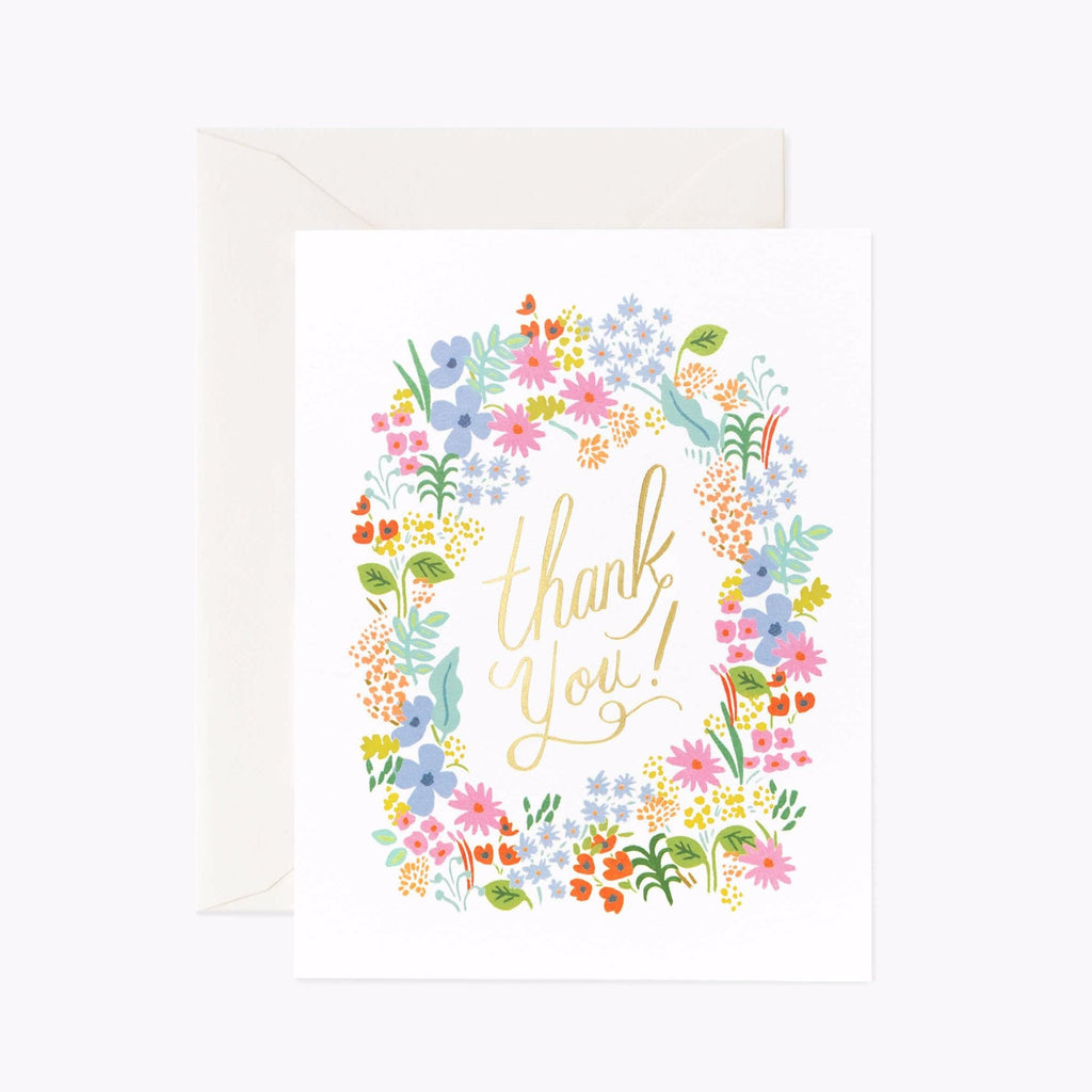 Tarjeta Prairie Thank You Rifle Paper & Co