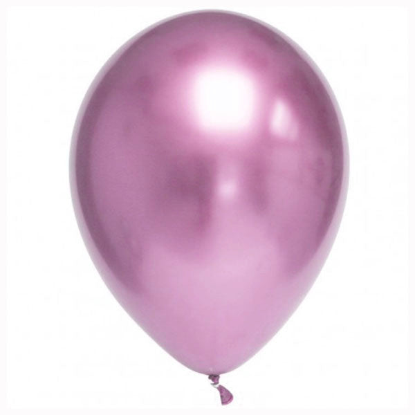 Globos Chrome rosa / 2 uds.