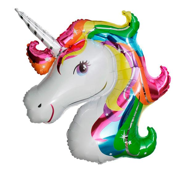 Globo Unicornio multicolor XL