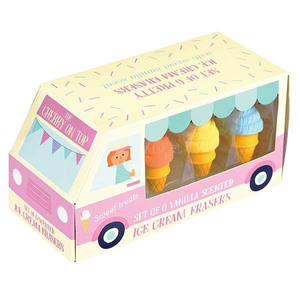 Set gomas de borrar Icecream
