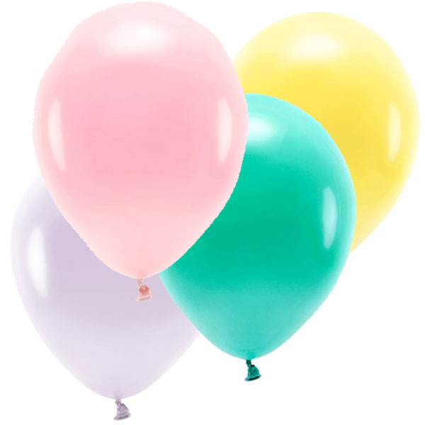 Mix globos colores Candy ECO/ 10 uds.