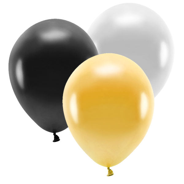 Mix globos colores Great Gatsby / 10 uds.