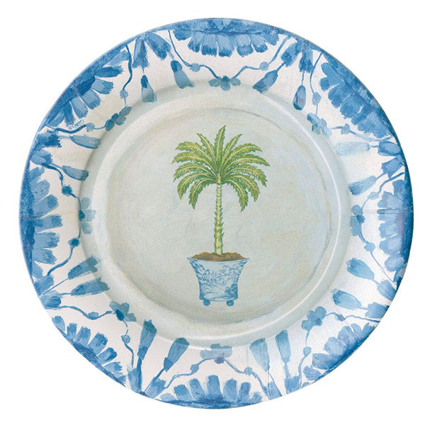 Platos Potted Palms / 8 uds.
