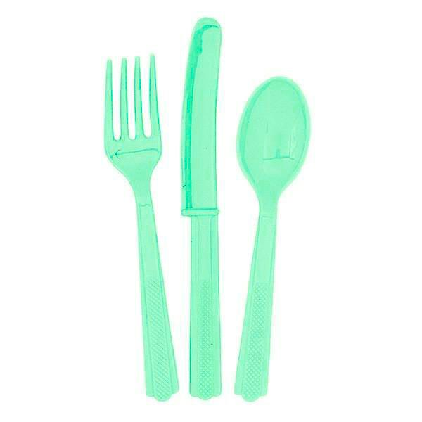 Set cubiertos Mint / 18 uds.