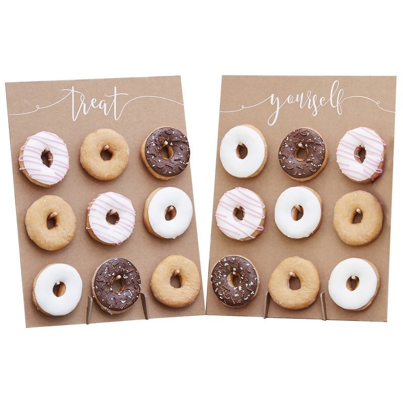 Stand Donut Bar rustic