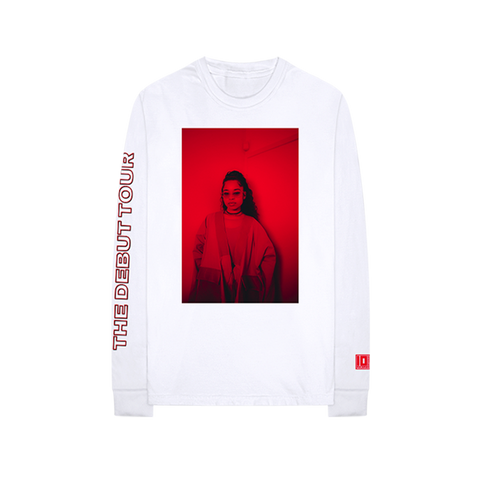 The Debut Tour White Long Sleeve
