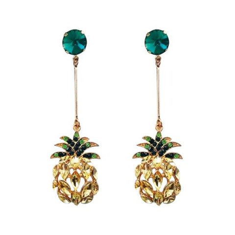 Boucle D'Oreilles Ananas<br> Trendy | Ananas-Passion