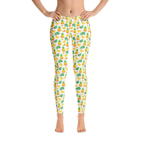 Leggings Ananas Fruit Tropicaux