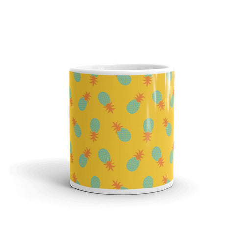 Mug Ananas Pop Art Jaune