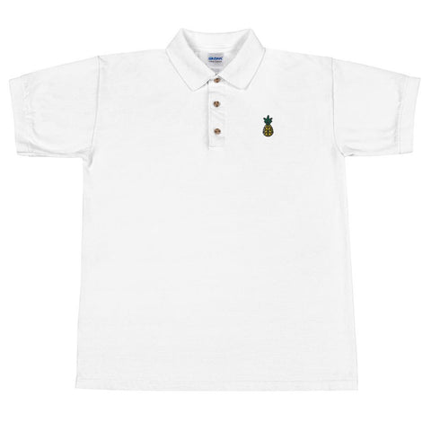 T-Shirt Polo Ananas Coquille blanc