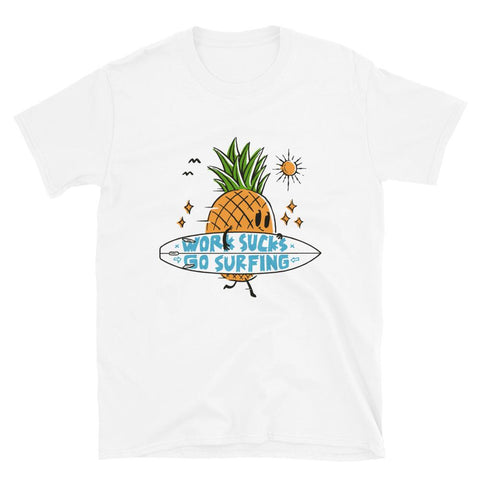 T-shirt Ananas Surfer