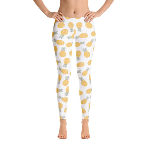 Leggings Ananas Blanco