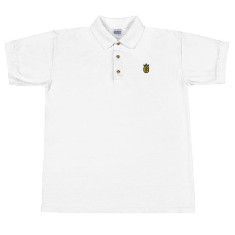 T-Shirt Polo Ananas Wewer blanc