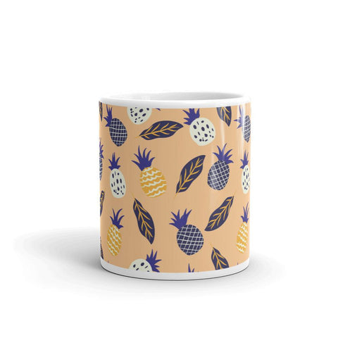 Mug Ananas Exotique Orange