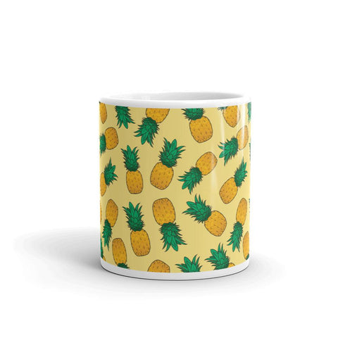 Mug Ananas Design Orange