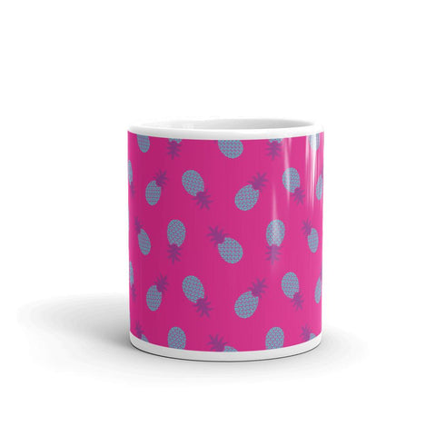 Mug Ananas Pop Art Rose