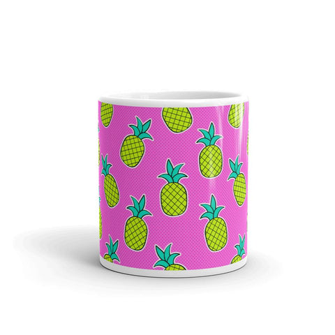 Mug Ananas Rose Flashy