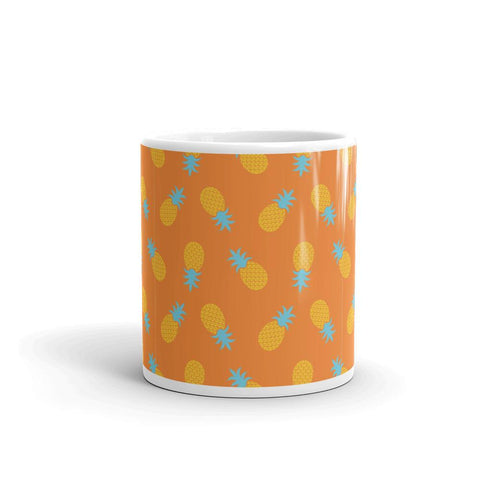 Mug Ananas Pop Art Orange