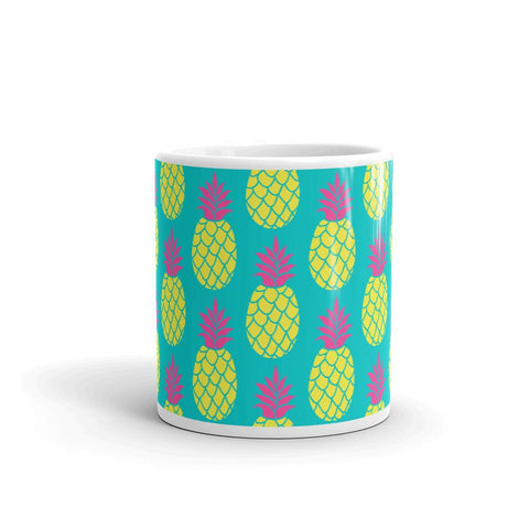 Mug Ananas Bleu Flashy