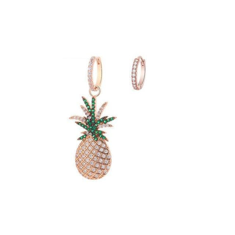 Boucle D'Oreilles Ananas <br>Charmy | Ananas-Passion