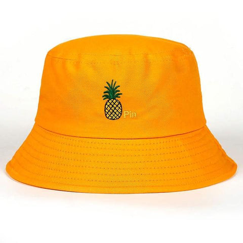 Bob Ananas  <br> Brodé Orange | Ananas-Passion