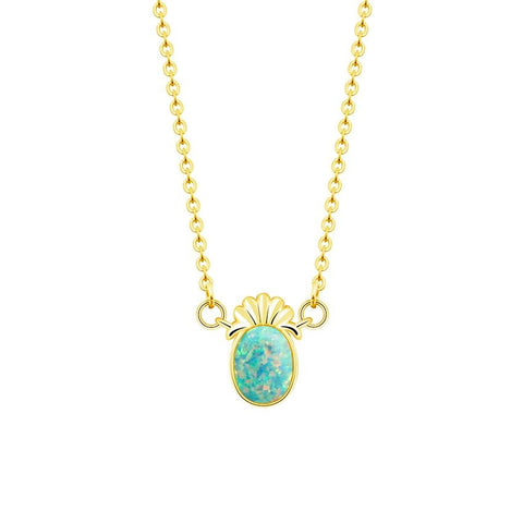 Collier Ananas <br> Opal | Ananas-Passion
