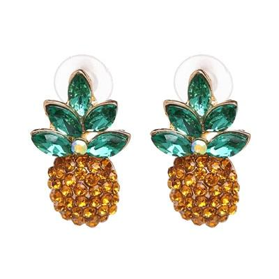 Boucle D'Oreilles Ananas <br>Tropicaly | Ananas-Passion