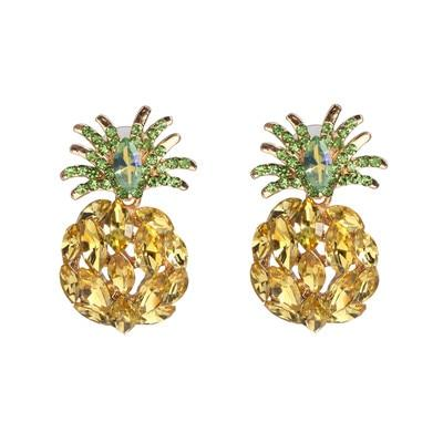 Boucle D'Oreilles <br>Ananas Exotica | Ananas-Passion