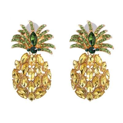 Boucle D'Oreilles Ananas <br>Verdere | Ananas-Passion