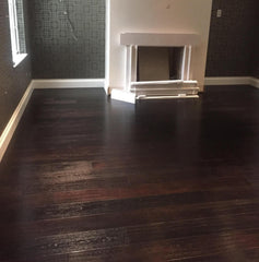CARBONISED BLACK ENGINEERED OAK WOOD FLOORING