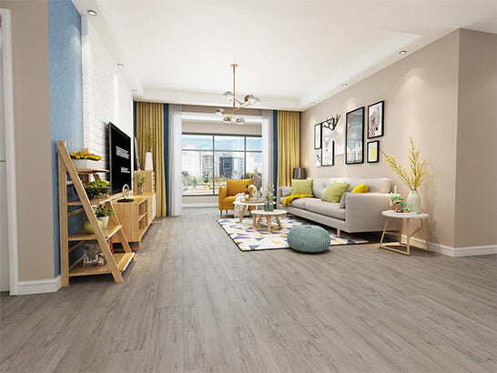 Impervia Commercial Platinum Grey Oak Luxury Vinyl Flooring