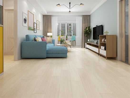 Impervia Grey Snow Whiate Oak luxury Vinyl Flooring