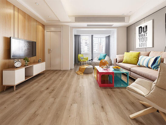 Impervia Light White North American Oak luxury Vinyl Flooring