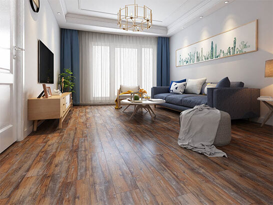 Impervia Tiger wood Oak luxury Vinyl Flooring