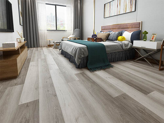 Impervia Weather Aged Grey Oak Luxury Vinyl Flooring