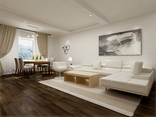 Impervia Urban Shadow Oak luxury Vinyl Flooring
