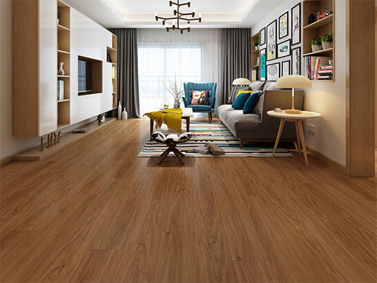 Impervia Commercial Dark American Oak Luxury Vinyl Flooring
