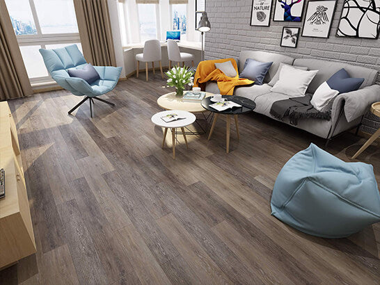 Impervia Commercial Grey Limed Oak Luxury Vinyl Flooring